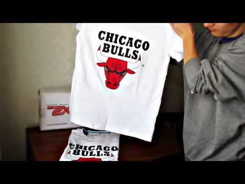 Видео обзор на футболку Chicago Bulls от 2XL Shop