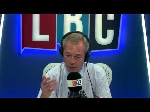 Nigel Farage on LBC - 17th July 2016