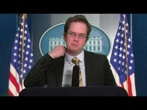 Hazing the New Press Secretary