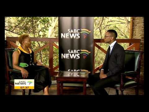 SABC speaks to Minister Lindiwe Zulu at the ANC NGC 2015