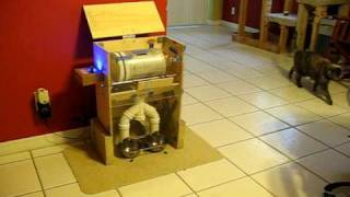 Arduino-Based Laser Controlled Wireless Automatic Cat Feeder
