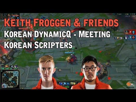 Keith, Froggen, & Friends Korean DynamicQ - Meeting Korean Scripters