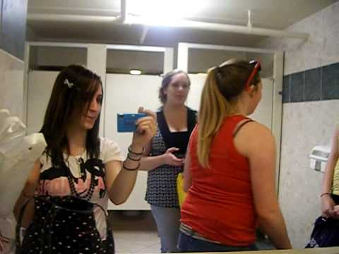 What Teenage Girls Do In Mall Bathrooms video