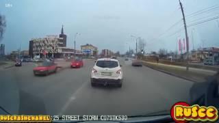 ИДИОТЫ на дороге 2015 аварии и ДТП (50 выпуск)