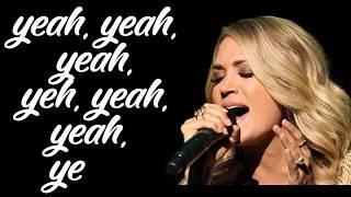 Download Lagu Carrie Underwood - Cry Pretty Lyrics video - Songs Lyrics Gratis STAFABAND