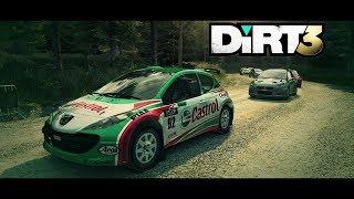 Dirt 3 Rally Testing -  Random Video - Castrol Peugeot 207 S2000