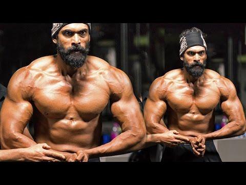Rana Daggubati's Gym Bodybuidling Workout Look For Bahubali 2 thumbnail
