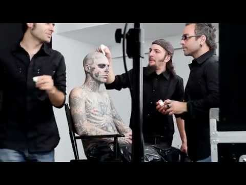 "Zombie Boy Gets ""Naked"" for Dermablend."