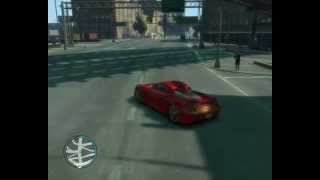 Porsche Carrera GT drift in GTA IV
