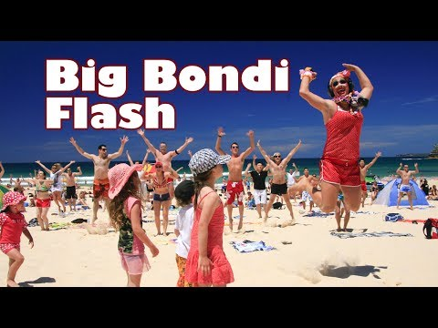 The Big Bondi Beach Flash Mob [ORIGINAL] Music Videos