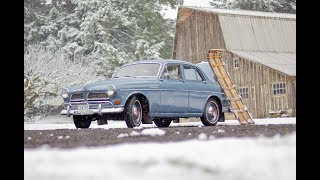 1963 Volvo 122 Amazon  - Nice Survivor - Original Plates