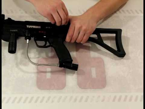 Trinity Folding G36 Stock for the Tippmann A5 Review by HustlePaintball.com