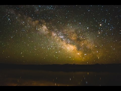 The Stars - A Milky Way Time-lapse + Instrumental piano/string music