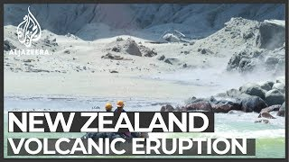 New Zealand: Eight missing after volcanic eruption 'likely dead'