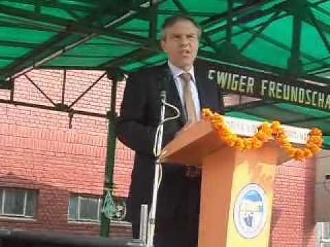 Michael Steiner at KV Gomti Nagar
