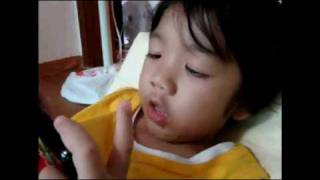 【SHINee Hello Baby Yoogeun】〖100810〗Yoogeun singing to SHINee