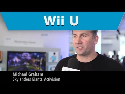 Wii U Preview – Skylanders Giants Interview