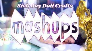 Mash Ups: Sick Day Doll Crafts - Doll Robe | House Shoes | Sharpie Mug & more