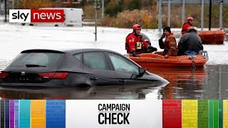 General Election Campaign Check: Flood defences