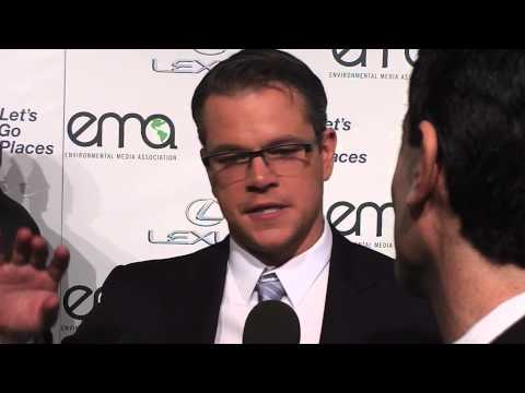 Matt Damon on Veganism:  Do as I Say, Not as I Do