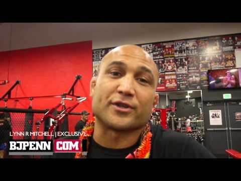 EXCLUSIVE  BJ Penn Edgar Fight Means More Than Title