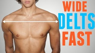 3 Exercises to Get WIDE Masculine Shoulders FAST
