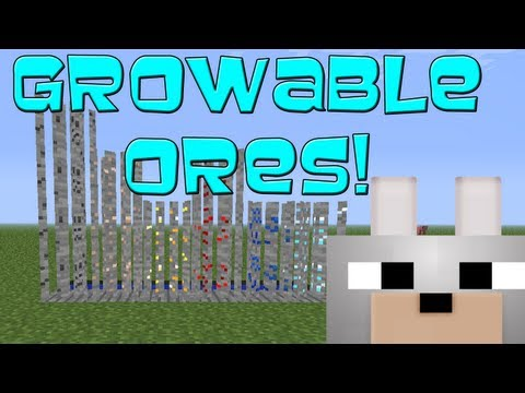 Growable Ores 1.2.5 Minecraft Mod Review and Tutorial
