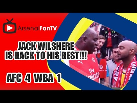 Jack Wilshere Is Back To His Best!!! | Arsenal 4 West Brom 1