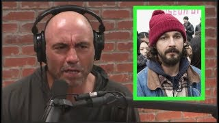 Joe Rogan on 4chan Trolling Shia Labeouf