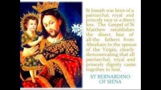 Royalty of St Joseph - Apostolate of St Joseph Prince of the Church