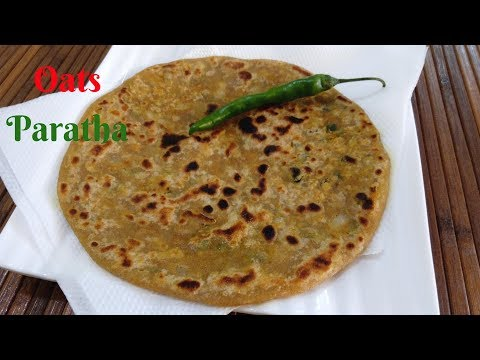 Recipe of oats paratha