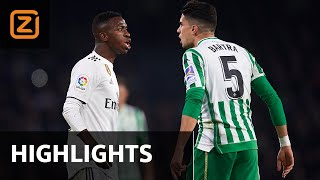 Real Betis vs Real Madrid | La Liga 2018/19 | Samenvatting