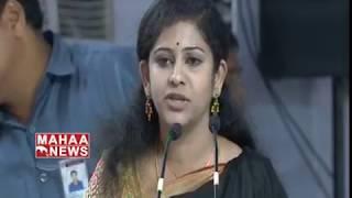 Yamini Speech About AP CM Chandrababu Development | #DharmaPorataDeeksha