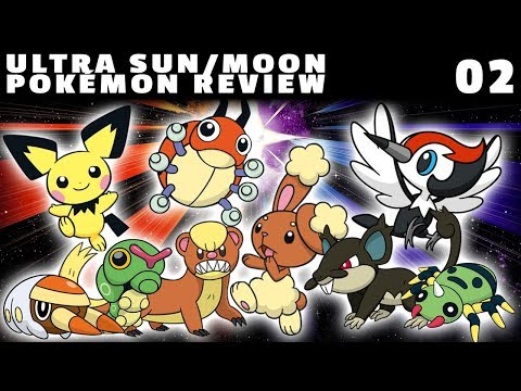 Ultra Sun/Moon Pokémon Review: Route 1 (Yungoos, Pichu, Buneary, Pikipek + others!)