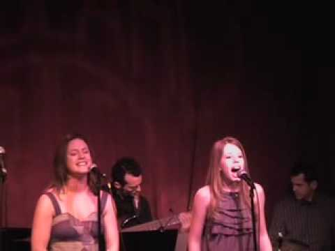 Im A Star sung by Carrie Manolakos and Allie Trimm - Live at Birdland 1/12/09