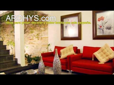 Ideas para decorar una sala económica y pequeña
