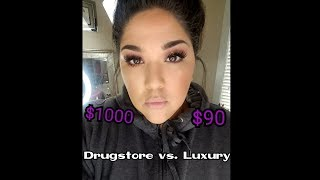 Drugstore Makeup Vs. Luxury Makeup