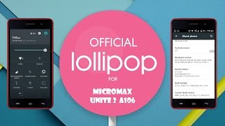 Unbricking Micromax Unite 2 (Lollipop Upgrade)