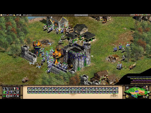 Age of Empires 2 HD Edition Coop - King Sehenth, o Piedoso