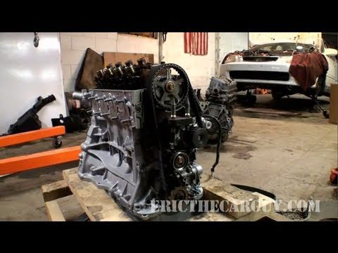 Honda Civic Timing Belt Replacement. Quick Look (1998) - EricTheCarGuy