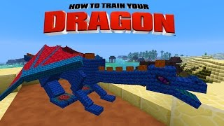 Minecraft - HOW TO TRAIN YOUR DRAGON - Cobalt the Hero Dragon [32]