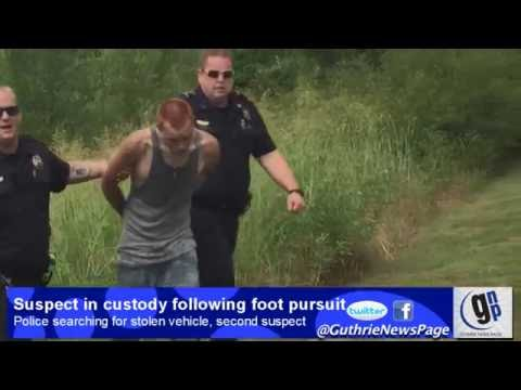 Police capture suspect following foot pursuit