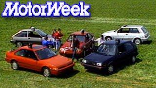 MotorWeek   Retro Review: '86 Hot Hatch Comparo