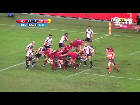 Queensland Reds Saia Faingaa Highlights Package