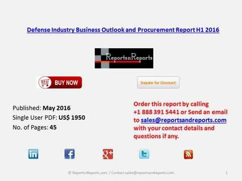 Defense Industry Procurement Expenditure to Increase By 7% over Next Six Months
