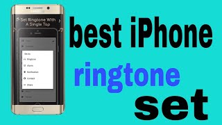iPhone ringtone set for simple mobile