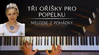 Tři oříšky pro popelku / Drei Haselnüsse für Aschenbrödel + piano sheets
