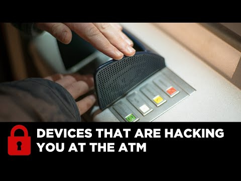 Atm Machines Affixed With Skimming Devices; Uniball & Identity Theft Expert Www.idtheftsecurity video