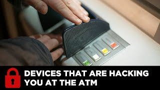 ATM Machines affixed with Skimming Devices; Uniball & Identity Theft Expert www.IDTheftSecurity.com