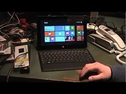 Microsoft Surface RT Review & Demonstration